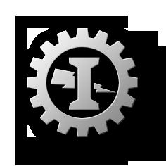 Símbolo Intecnial - Semiflat - Fundos escuros