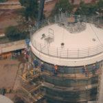 Air Products - Fornecimento de instalação mecânica de tanque - Guaíba/RS