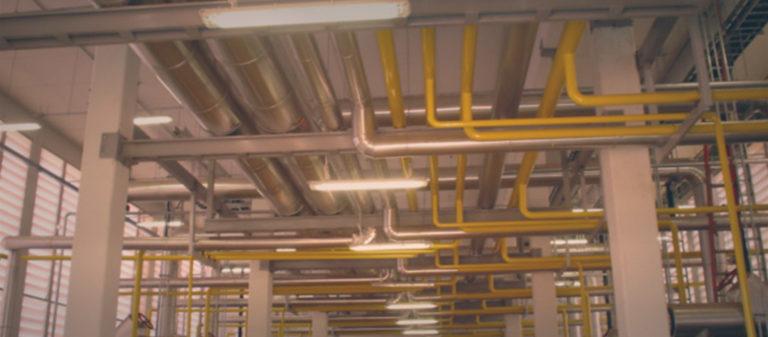 Sadia - Vargem Grande-MT - Fornecimento de montagem de tubulações