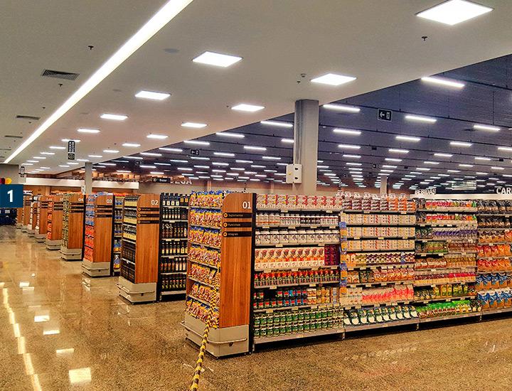 Instalação elétrica | Passarela Supermercados