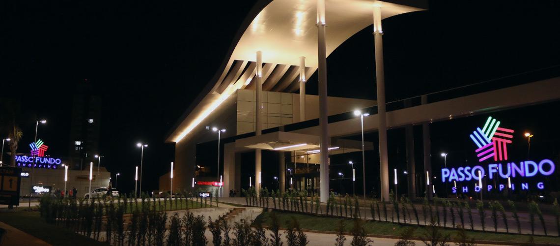 Instalações elétricas Intecnial para novo Shopping Passo Fundo