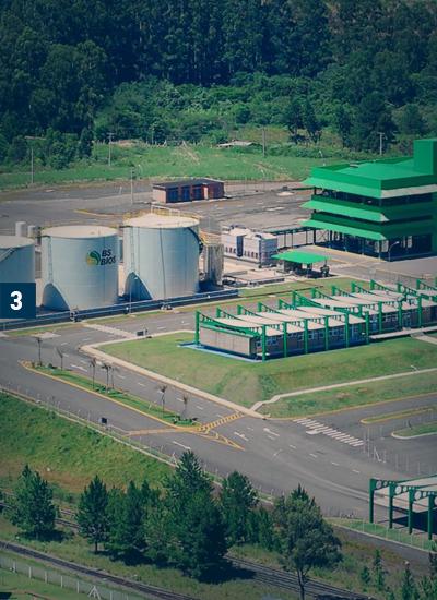 BS Bios - Plantas de biodiesel - 100 MM litros ano - Passo Fundo/RS