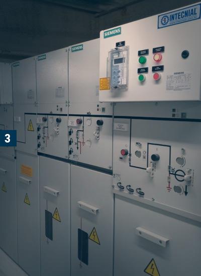 Intecnial | Soluções | Fornecimento de painéis elétricos | Shopping Passo Fundo/RS.