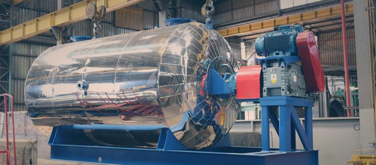 Industrialização Intecnial - Fabricação de digestor