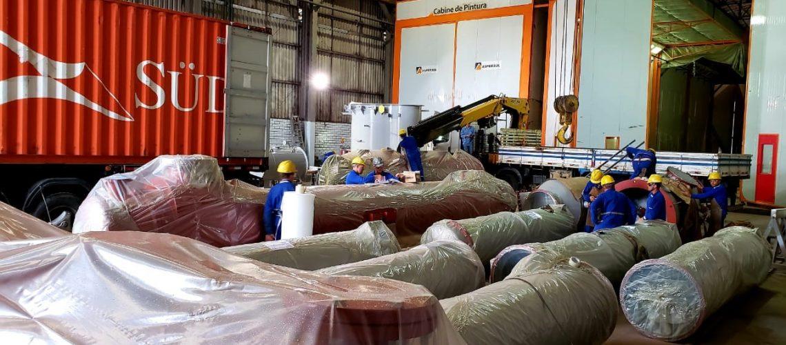 Equipamentos para ampliação do complexo industrial de processamento de soja (3)