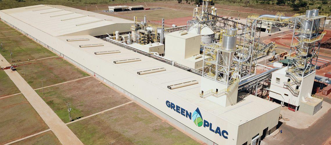 Execução da montagem eletromecanica de indústria de MDF - Greenplac